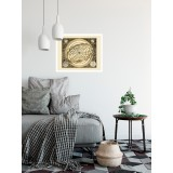 Antique Celestial Map Print