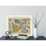UK Antique Wall Map