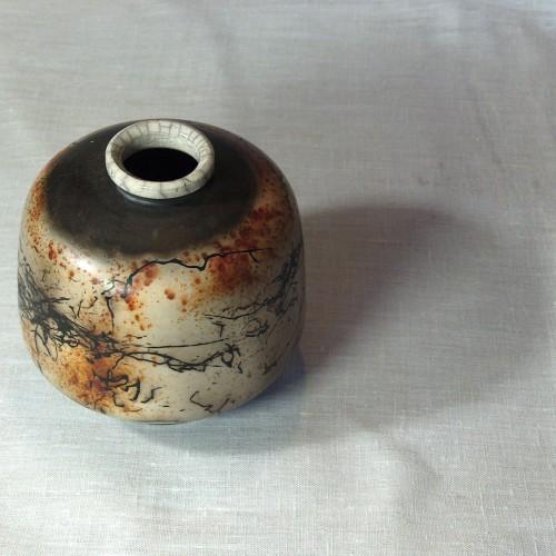 Raku Pottery - Dosanko Vase