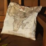 Map Pillows - Set of Six