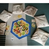 Map Decorated Pillows - Set of Six