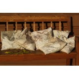 Map Decorated Cushions - Set of Six