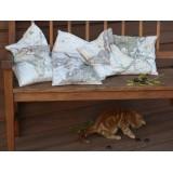 Map Pillow - Set of Six
