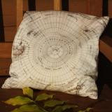 Map Cushion - Set of Six