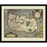 Ireland Framed Old Map