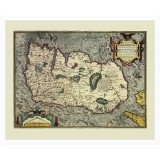 Ireland Framed Ancient Map