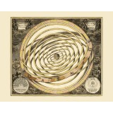 Ancient Celestial Map - Canvas Print