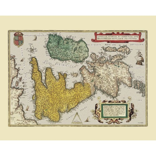 Great Britain: Vintage Map Art