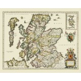 Ancient Scotland Map