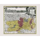 gerahmte Karte der Kärnten