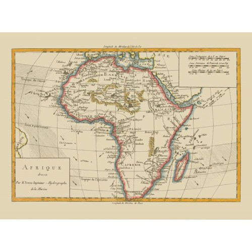 Africa: Antique Map Poster