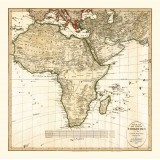 Wall & Deco: Vintage Map of Africa