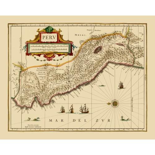 peru old map