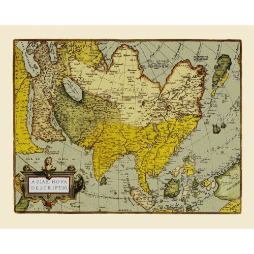 Map Of Asia To Print.Asia Historical Map Posters Kobeica Old Map Prints