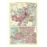 Antique map of Sydney