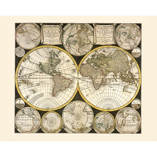 World: Vintage Map