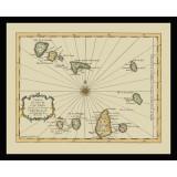 Antique Map of Cape Verde