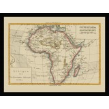 Africa Old Map Poster