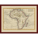 Africa Ancient Map Poster