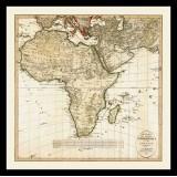 Vintage Africa Map