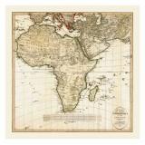 Antique Africa Map
