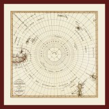 Ancient map of the South Pole