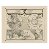 Beautiful World Map Canvas Print