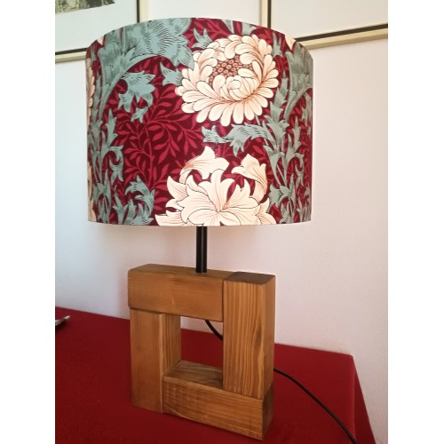Meryl - Lampshade with Chrysanthemes